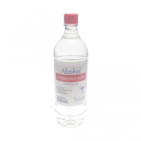 Alcohol Antiséptico 70% x 1000 mL